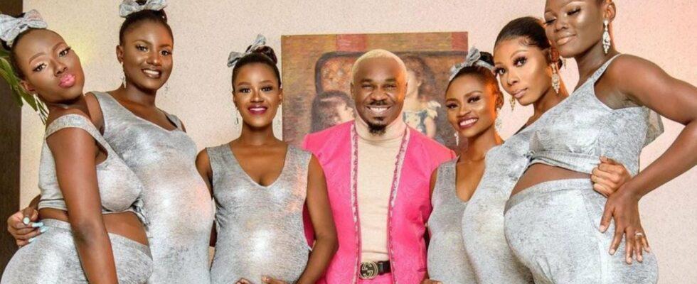 Νιγηριανός πήγε σε γάμο με έξι έγκυες γυναίκες και δηλώνει «όλες κουβαλάνε το παιδί μου» (βίντεο)
