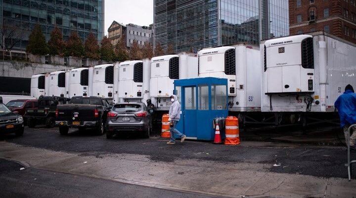 ΗΠΑ:650 νεκροί στοιβαγμένοι σε φορτηγά ψυγεία