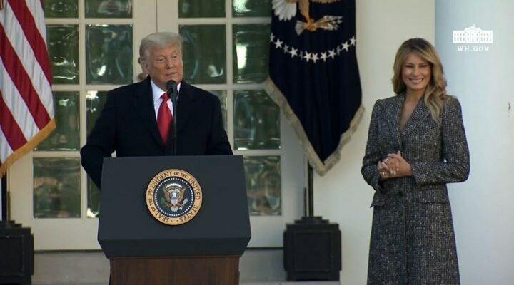 Με νέο look η απερχόμενη Πρώτη Κυρία των ΗΠΑ
