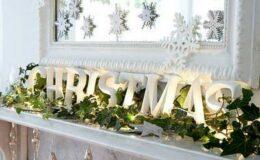 Χριστουγεννιάτικες ιδέες για να διακοσμήσετε το τζάκι σας!