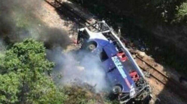 Βραζιλία:16 νεκροί από πτώση λεωφορείου