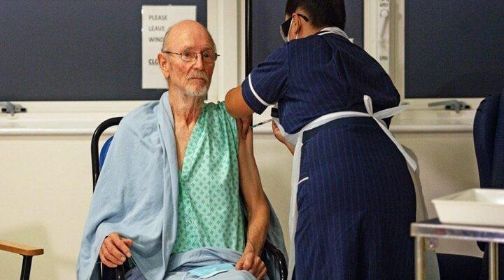 Ο δεύτερος άνθρωπος που εμβολιάστηκε στη Βρετανία είναι ο... Ουίλιαμ Σαίξπηρ