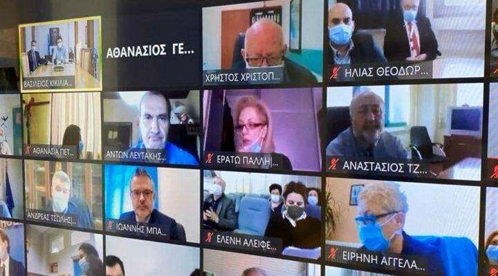 """Επιχείρηση """"Ελευθερία"""": Διαδοχικές τηλεδιασκέψεις για τον εμβολιασμό"""