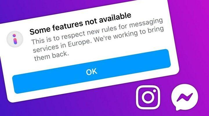 Γιατί το Facebook και το Instagram απενεργοποίησαν λειτουργίες στην Ευρώπη;