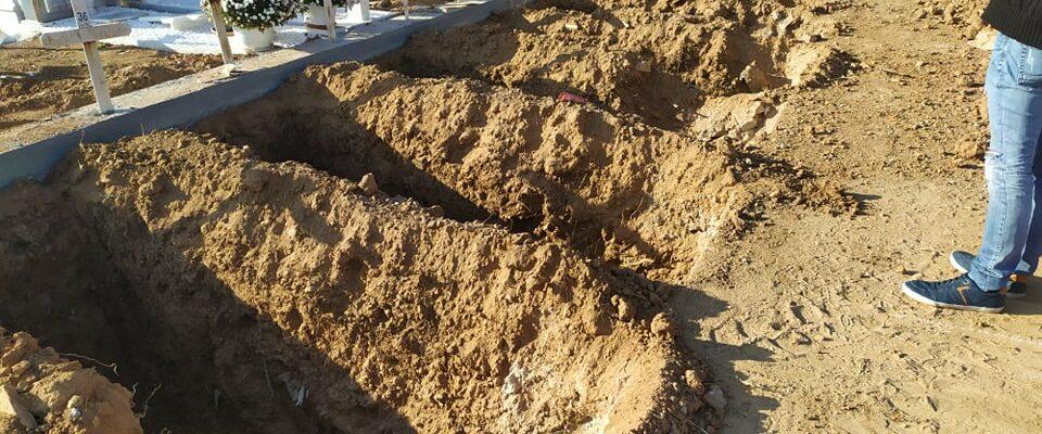 Κορωνοϊός: αυξάνονται τα θύματα, γεμίζουν οι τάφοι στη Θεσσαλονίκη (ΦΩΤΟ-ΒΙΝΤΕΟ)