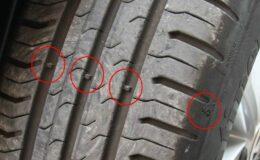 Αυτοκίνητο: Τι δείχνουν αυτά τα σημάδια στα λάστιχα;
