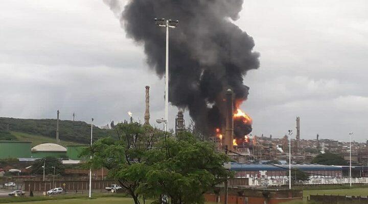 Νότια Αφρική: Έκρηξη σε διυλιστήριο στο Ντέρμπαν - ΒΙΝΤΕΟ