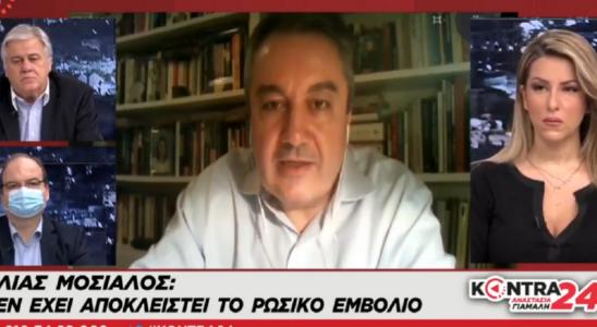 Ο Ηλίας Μόσιαλος συγκρίνει τα εμβόλια Moderna Pfizer Sputnik V Oxford AstraZeneca (Βίντεο)